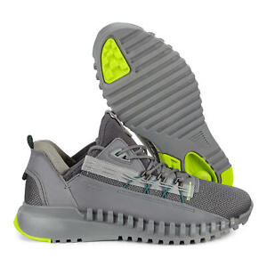 ECCO ZipFlex Men's Low Shoes Titanium Size EU 46 (US 12 - 12.5) FREE SHIPPING