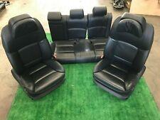 BMW 550i 535i 528i F10 2010-2016 Full set of Seats seat OEM Black Leather