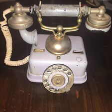 Antique Denmark Kjobenhavns Telefon Aktieselskab Table Rotary Telephone Phone