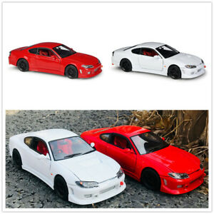 WELLY 1:24 For Nissan Silvia S-15 Diecast Alloy Static Car Model Mens Gift