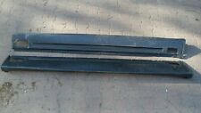 Genuine Porsche Cayenne GTS Turbo Side Skirts Sill Skirt R+L 7P5854883 7P5854884