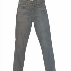Citizens of Humanity Womens Gray Rocket Solid High Rise Skinny Jeans Size 25