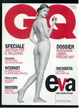 GQ ITALIA 3 DICEMBRE 1999 EVA HERZIGOVA LEONARDO DICAPRIO STONE TEMPLE PILOTS