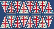 Makower Fabric - Union Jack Bunting Panel - 100% Cotton