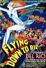 Flying Down to Rio (DVD, 2006) NEAR MINT  Ginger Rogers  Fred Astaire  Slim Case
