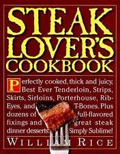 Steak Lover's Cookbook-ExLibrary