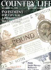 Country Life Weekly Investment Top Tips For Prosperous Millennium (January 1999)
