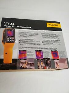 Fluke VT04 Visual Infrared Thermometer With Soft Carrying Case New In The Box