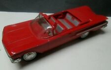 Vintage Red 1960 Impala Convertible Promo Car Very Good Condition No Reserve