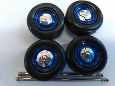 WHEELS & TIRES FOR MOTORMAX 1/24 SCALE 1966 CHEVY C-10 OR MODEL CARS/TRUCKS