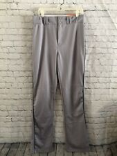 Nwt Louisville Slugger Mens Relax Fit Boot Cut Baseball Pants- Gray Green-Size M