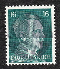 Mint Never Hinged Hitler Head Obliteration Post WWII #9 A