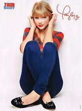 "TAYLOR SWIFT - BELLA THORNE - SHAKE IT UP - 11"" x 8"" MAGAZINE PINUP - POSTER"