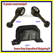 fits 1992-2002 Saturn 1.9L SC / SL / SW Series Engine Motor Mount Set 3PCS.