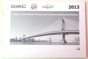 GM 2013 Buick/Chevy/GMC Nav Manual #2282343C