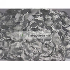 100pcs Artificial Silk Rose Petals/ Wedding Petals Silver (GA, USA)