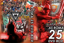 25 DVD BOX ULTRAS ROMA  (AS ROMA 1927,CURVA SUD,TOTTI,BOYS,FEDAYN,TDR,ASR,CLAN)