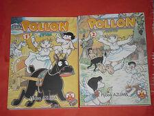 POLLON N° 1/2-collezione completa di HIDEO AZUMA MANGA MAGIC PRESS NUOVO