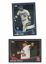 2013 Topps Chrome Set 1-220