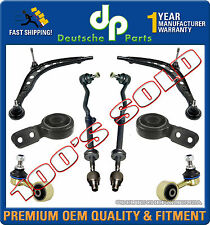 CONTROL ARM ARMS BRACKET BUSHINGS TIE ROD RODS for BMW E30 SUSPENSION KIT 8