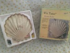 Vintage Salton Creations Wet Tunes Sea Shell Shower Radio Swt30 Am/Fm