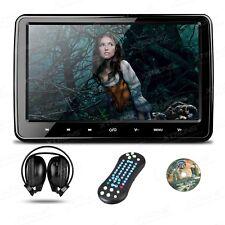 """SCHERMO HD POGGIATESTA 10.1"""" TOUCH giochi video USB SD DVD + CUFFIA + TELECOMAND"""