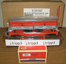 Lionel Madison Hardware Company Flatcar With 2 Trailers 6-52187