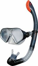 Sola Sports Adult Mask and Snorkel Set one size with adjustable strap