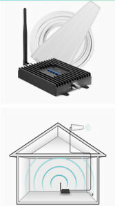 SureCall Fusion4Home Yagi/Whip, Cell Phone Signal Booster Kit for All Carriers