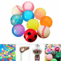 10X 27mm Bouncy Jet Balls Kids Toys For Pinata Loot Party Bag Stocking Fillers