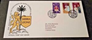 Sierra Leone 1978 25th Anniversary of the Coronation  First Day Cover
