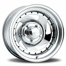 """14"""" Chrome Blade Alloy Wheels Suit Early Ford Peugeot Citroen PCD:4x108"""