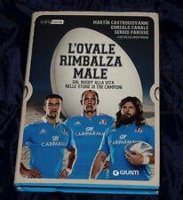 L'ovale Rimbalza Male / Libro Rugby Giunti ed.