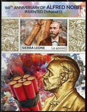 SIERRA LEONE 2017 150th ANN OF ALFRED NOBEL'S INVENTION OF DYNAMITE  S/S MINT NH
