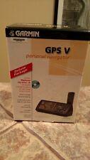 Garmin GPS V Americas DLX Personal Navigator 0100022612 Hiking Biking Geocaching