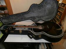 DEAN Acoustic Guitar Model # JC QM TGE GC w/Hard Case
