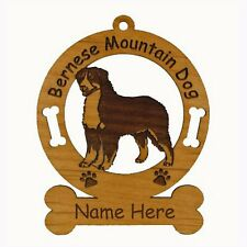 Bernese Mountain Dog Dog Breed Ornament Personalized With Your Dog's Name 1714