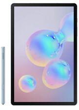Samsung Galaxy Tab S6 128Gb, 10.5 in Looks New- Cloud Blue W/ Accessories