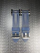 Nuevo Suunto Core PU Goma Correa Suave Buceo Reloj Asideros Adaptador Set Azul