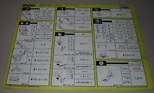 Inspektionsblatt Toyota Starlet EP 70 71 76 Service Blatt Stand Oktober 1986!