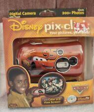 Disney Cars Pix Click, Digital Camera w/flash, NIB, 2006