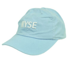 NYSE New York Stock Exchange Youth Baby Blue Relaxed Hat Cap Curved Bill hat  cap b8ee815f5d8e