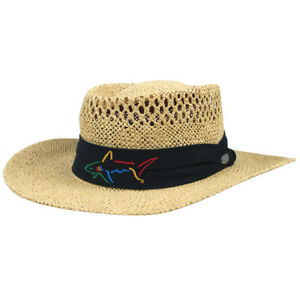 NEW Greg Norman Signature Straw Hat One Size - Choose Color