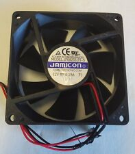 JAMICON JF0825S1H-S  12 volt cooling fan WITH 80x80x25mm 2 pin plug
