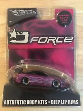 Hot Wheels Import Nights D Force Nissan Silvia S15 Tuners Drifters Sports Car
