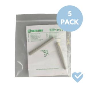 5 PAIRS Salter Labs 1016 EZ Wrap TLC Soft Foam Nasal Oxygen Cannula Ear Cushions