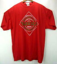 Vintage Deadstock Tabasco T-shirt 2XL Red Logo Hot Sauce Shirt Single Stitch