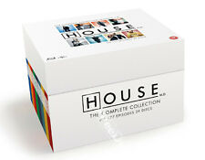 House MD Complete Collection (Seasons 1-8) NEW Cult Blu-Ray 39-Disc Set H.Laurie