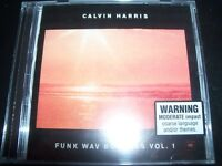CALVIN HARRIS Funk Wav Bounces Vol. 1 CD - New