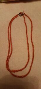 Korallenkette, Halskette, prächtig, antiker Schmuck